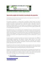 Governo do estado de São Paulo aprova projeto de incentivo à ...