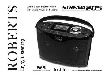 DAB/FM WiFi Internet Radio - Roberts Radio