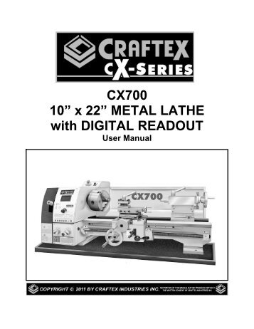 cx700-10a-x-22a-metal-lathe-with-digital-busy-bee-tools Harbor Freight Mini Mill Wiring Diagram on