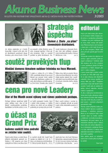 Akuna Business News AkunaBusineness News s News