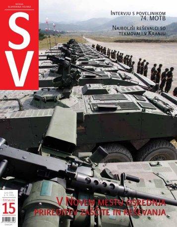 Letnik XVII/15 - Ministrstvo za obrambo