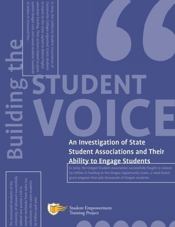An Investigation of State Student Associations and Their ... - Circle