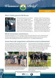 Wannsee Brief Juli 2013 - Der Golf- und Land-Club Berlin-Wannsee ...