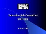 Presentation - The Hong Kong Capital Markets Association