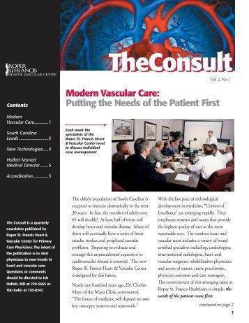 Modern Vascular Care - Roper St. Francis Healthcare