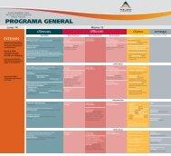 programa general per.. - PERUMIN - 31 Convención Minera