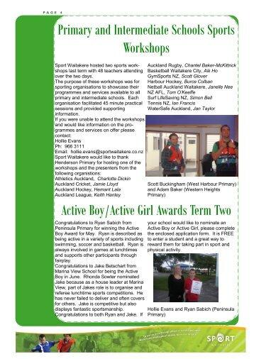 Newsletter insert Term 3.pdf - Sport Waitakere