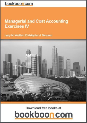 issues of managerial accounting Subfields are typically defined by the audience an accountant reports to: outside investors (financial accounting), employees (managerial accounting), tax authorities (tax accounting), citizens (governmental accounting), or.