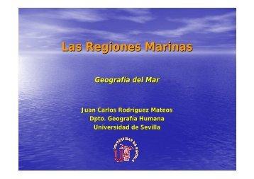 Las Regiones Marinas