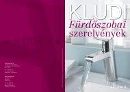 Kludi fürdőszobai szerelvények katalógus