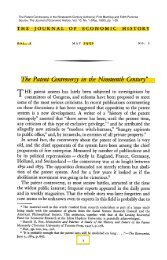 The Patent Controversy in the Nineteenth Century - The University of ...