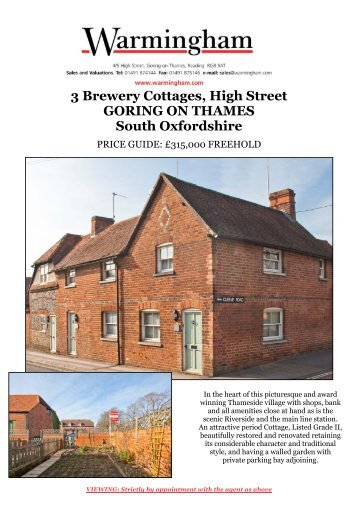 3 Brewery Cottages, High Street GORING ON ... - Warmingham