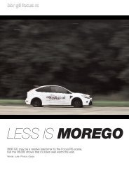 LESS IS MOREGO - BBR GTi.