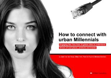 How to connect with urban millennials - InSites Consulting
