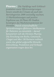 Roche Geschaeftsbericht 09 - Pharma