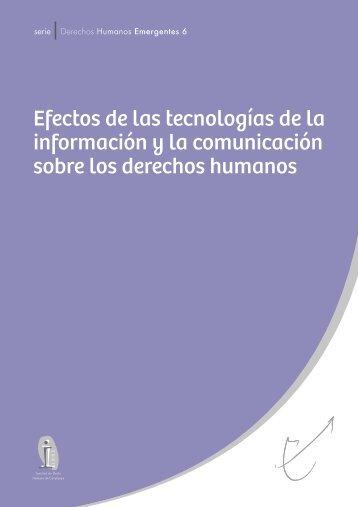 Carta de derechos humanos emergentes: Efectos de las tecnologías