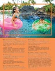 hyatt resorts & spas of hawaii - VAX VacationAccess