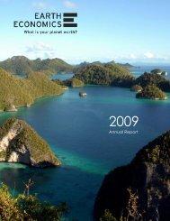 2009 Annual Report - Earth Economics