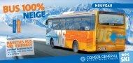 Navette bus ski Express 2010 - Conseil général