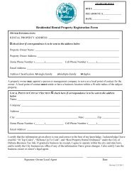 Residential Rental Property Registration - City of Deltona, Florida