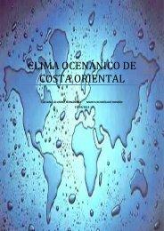 Clima Templado Frio Costa Oriental Grupo B