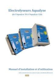 Electrolyseurs Aqualyse - Nantalo