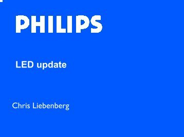 Philips: LED Update