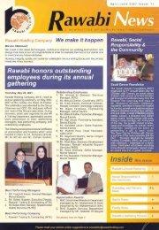 Rawabi Holding Newsletter Issue 11