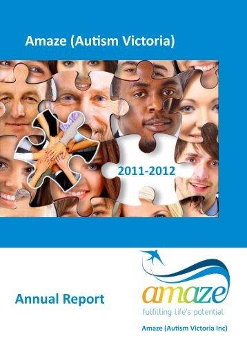 2011-12 Annual Report - Amaze