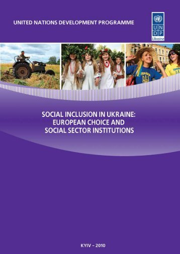 European Choice and Social Sector Institutions - UNDP in Ukraine