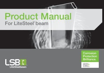 Product Manual for LiteSteel beam - BJH