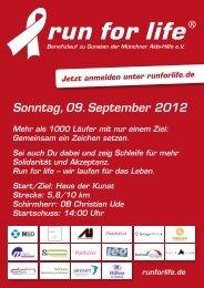 Sonntag, 09. September 2012
