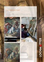 Leinwandbilder - Atelier Lochmatter