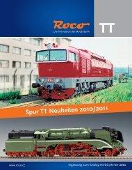 Spur TT Neuheiten 2010/2011 - Roco