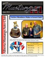 June - Alberta Mustangs Auto Club
