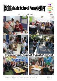 31 Newsletter Term 2 Week 5 Week 22 [pdf, 2 MB] - Biddabah Public ...