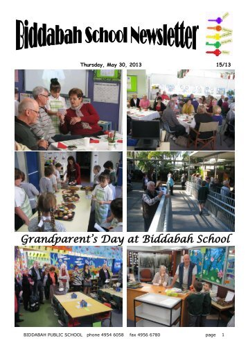 31 Newsletter Term 2 Week 5 Week 22 [pdf, 2 MB] - Biddabah Public ...