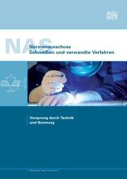 Imagebroschüre des NAS (1.2 MB) - DIN Deutsches Institut für ...