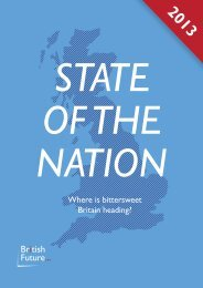 State of the nation: Where is bittersweet Britain ... - British Future