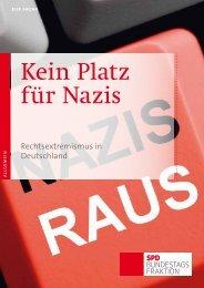 Kein Platz für Nazis - SPD Bundestagsfraktion