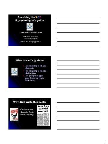 surviving year 12 michael carr gregg pdf