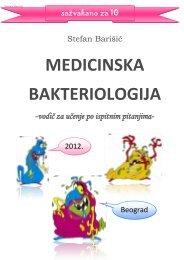 Medicinska Bakteriologija - Beli Mantil