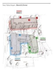 Grundrisse Einzelzimmer - Haus Tabea Horgen