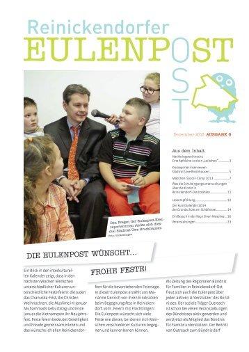 """Eulenpost"", Heft 6, Seiten 14 - Grundschule am Schäfersee"