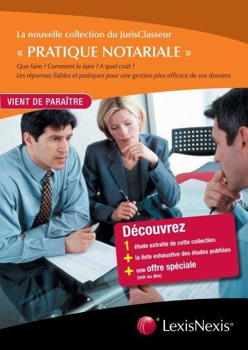 Pratique_Notariale - LexisNexis