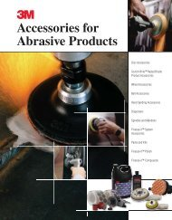 3 Accessories for Abrasive Products - 3M