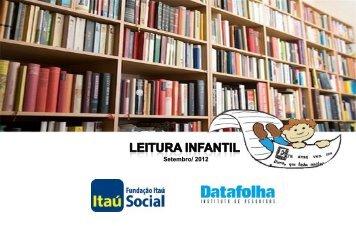Leitura Infantil - Fundação Itaú Social