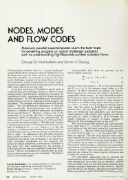 NODES, MODES AND FLOW CODES - Center for Fluid Mechanics ...