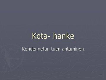 Kota- hanke - Kokkola
