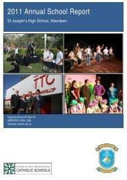 Annual School Report Secondary - Catholic Schools Office Maitland ...